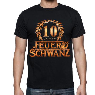 T-Shirt - 10 Jahre - Front